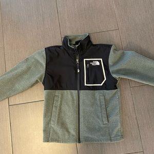 Boys North Face fleece jacket